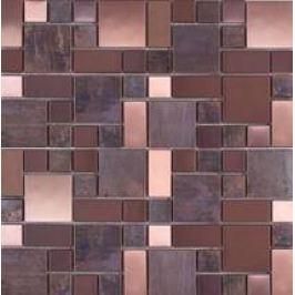 Premium Mosaic Stone Mozaika měděná 4,8/2,3 - set 29,8/29,8cm MOS4823CO