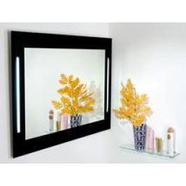 Zrcadlo s osvětlením Amirro Pharos 110x80 cm černošedá 900-773