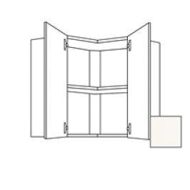 Kuchyňská skříňka s dvířky horní Naturel Erika24 60x65x60 cm bílá lesk 450.WED6001.L