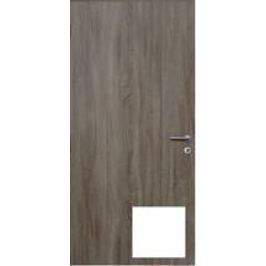 Protipožární dveře Naturel Technické levé 90 cm bílé DPOB90L