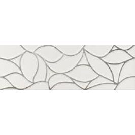 Dekor Dom Comfort G white design platinum 33x100 cm, mat DCOG10DD