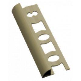 Lišta ukončovací oblá PVC champagne délka 250 cm, výška 10 mm, L10250CH
