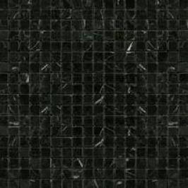 Kamenná mozaika Premium Mosaic Stone černá 30x30 cm leštěná STMOS15BKP