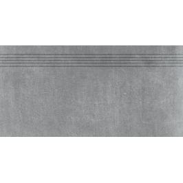 Schodovka Rako Rebel tmavě šedá 40x80 cm mat DCP84742.1