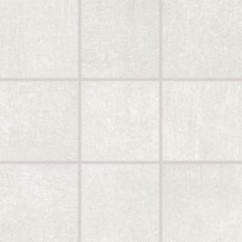 Dlažba Rako Rebel bílošedá 10x10 cm mat DAK12740.1