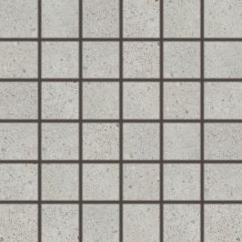 Mozaika Rako Piazzetta světle šedá 30x30 cm mat DDM06788.1