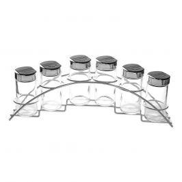 Kořenka sklo/UH 6 ks+stojan kov ORION