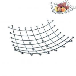 Košík na ovoce chrom 28x28 ORION