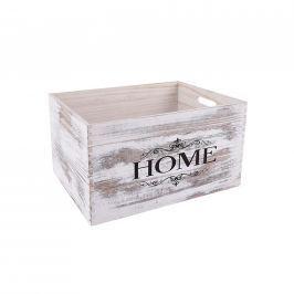 Bedýnka dřevo dekorace B 34x24 cm ORION Skladovací boxy