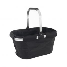 Košík skládací nákupní/piknik textil/Al s výztuží ORION