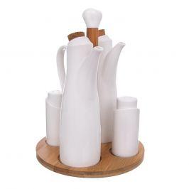 Dochucovací souprava porc./bambus 4+1 WHITELINE ORION