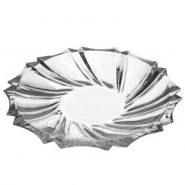 Talíř sklo servírovací CRYSTAL pr. 28 cm ORION