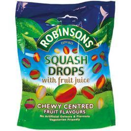 Robinsons Squash Drops Mix bonbonů z ovocné šťávy