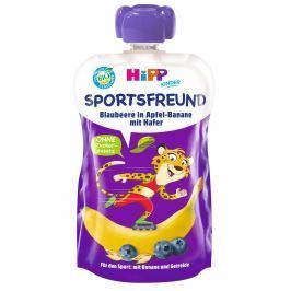 HiPP BIO Sport Jablko-Banán-Borůvky-Oves Kapsičky do ruky