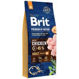 Brit Premium by Nature Adult M Střední plemena