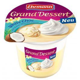 Ehrmann Grand Dessert Bílá čokoláda s kokosem a mandlí