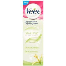 Veet Silk&Fresh Depilační krém pro suchou pokožku