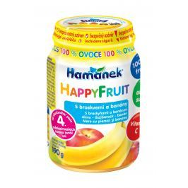 Hamánek Happy Fruit s broskvemi a banány 100%