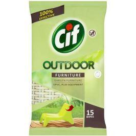 Cif Outdoor čisticí ubrousky