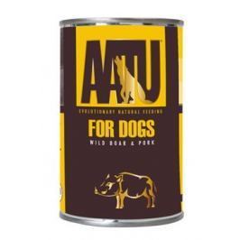 AATU Dog Wild Boar n Pork konzerva pro psy