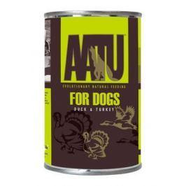 AATU Dog Duck n Turkey konzerva pro psy