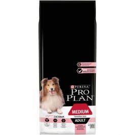 Purina PRO PLAN Medium Adult OPTIDERMA losos