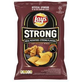 Lay's Chipsy Hot Chicken Wings Strong