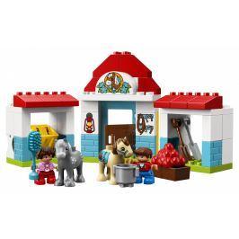 LEGO® DUPLO® Town 10868 Stáje pro poníka