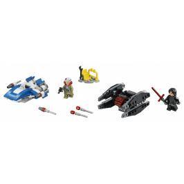 LEGO® Star Wars 75196 Mikrostíhačka A-Wing™ vs. Mikrostíhačka TIE Silencer™
