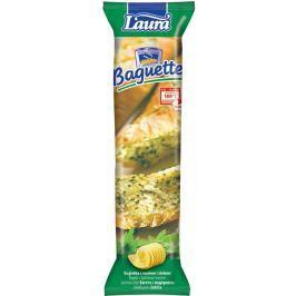 Laura bageta s bylinkovým máslem