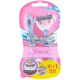 Wilkinson Sword Xtreme3 Beauty jednorázový holicí strojek se 3 břity, 4ks