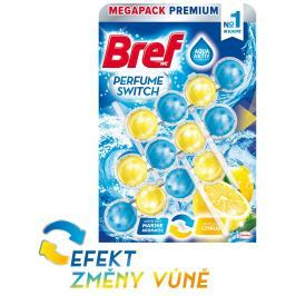 Bref Perfume Switch Marine-Citrus WC blok 3x50g