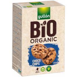 Gullón BIO Choco chips sušenky s kousky čokolády