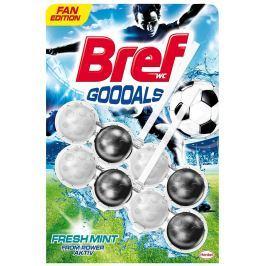 Bref PowerAktiv Fresh Mint WC blok limitovaná fotbalová edice 2x50g