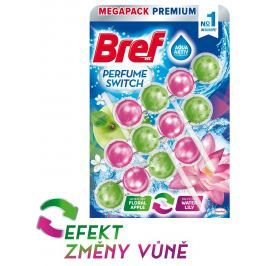 Bref Perfume Switch Apple-Water Lily WC blok 3x50g