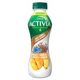 Danone Activia cereální nápoj ananas/mango/lněná semínka