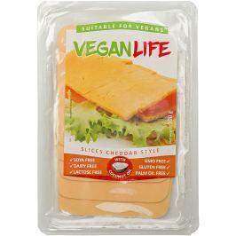Vegan Life Cheddar style plátky