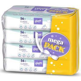 Bella Baby Happy Classic Sensitive čistící ubrousky 4x56 ks