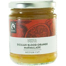 Marks & Spencer Marmeláda ze sicilských červených pomerančů se středně velkými kousky ovoce