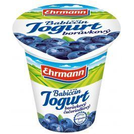 Ehrmann Babiččin jogurt borůvka