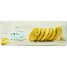Marks & Spencer Máslové vídeňské sušenky s vanilkovou příchutí