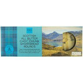 Marks & Spencer Skotské máslové sušenky s kousky hořké čokolády