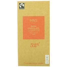 Marks & Spencer Hořká čokoláda s mandarinkovým olejem