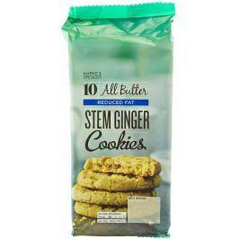 Marks & Spencer Máslové sušenky se sníženým obsahem tuku se zázvorem