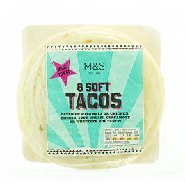 Marks & Spencer Pšeničné placky tacos 8ks
