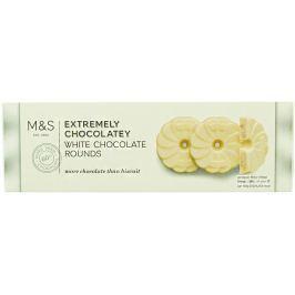 Marks & Spencer Sušenky s bílou čokoládou