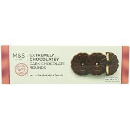 Marks & Spencer Sušenky s hořkou čokoládou