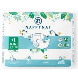 Nappynat plenky natural care Mini 2 - 6 kg (26 ks)