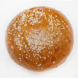 Merhautovo pekařství Hamburgerová bulka klasik se sezamem
