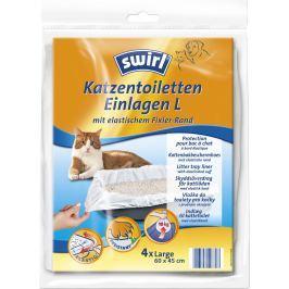 Swirl Vložka do toalety pro kočky - standard 4ks